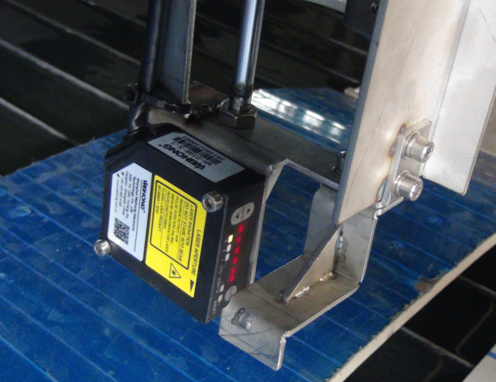 Height scanning system