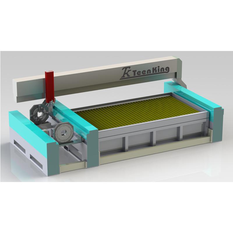 Tube Waterjet cutter